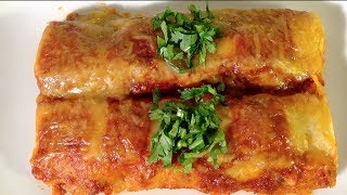 How To Make Beef Enchiladas-Sauce-Mexican Food Recipes