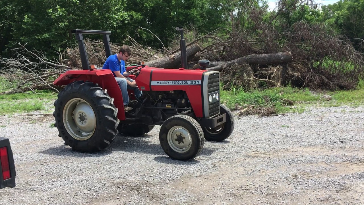 Massey Ferguson 231 Tractor Specs  Ford Tractor Rear Wheel | eBay