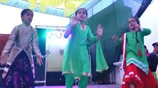 ladies sangeet dance performance by kids