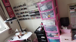 MOVING MY HOME SALON | IdleGirl Vlog #2