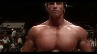 Arnold Schwarzenegger Bodybuilding Training - No Pain No Gain 2