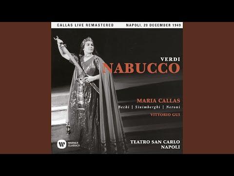 "Nabucco, Act 2: ""Che Si Vuol?"" (Chorus) (Live)"