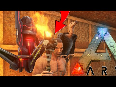 ARK: Scorched Earth - ARTIFACT OF THE CRAG, EPIC TORCH SKIN #11 (Scorched Earth Gameplay)
