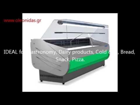Ψυγεία Τυριών   Αλλαντικών - Refrigeration Serve Over Display