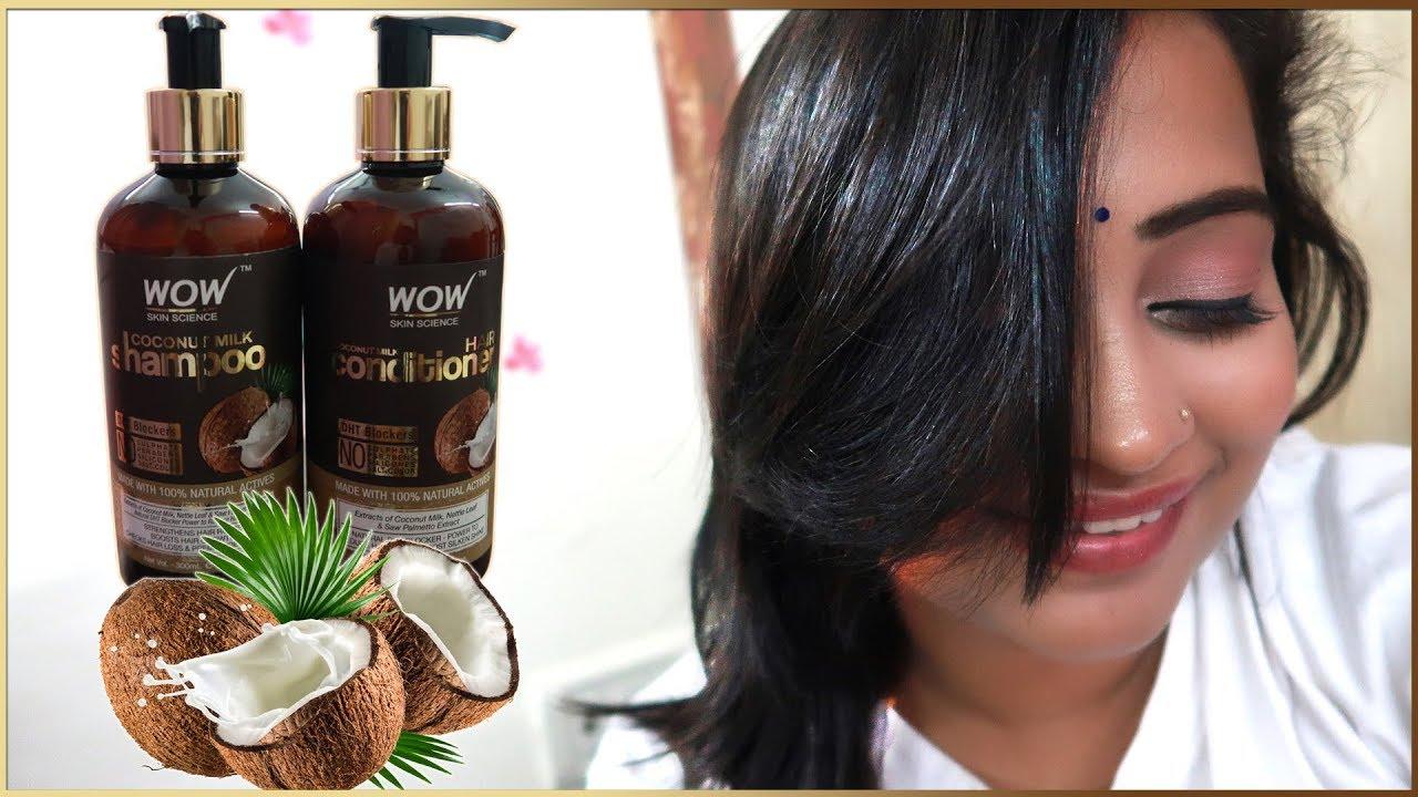 WOW Coconut Milk Shampoo & Conditioner Sach Me Acha Hai ? - Jane Claims Ka Sach