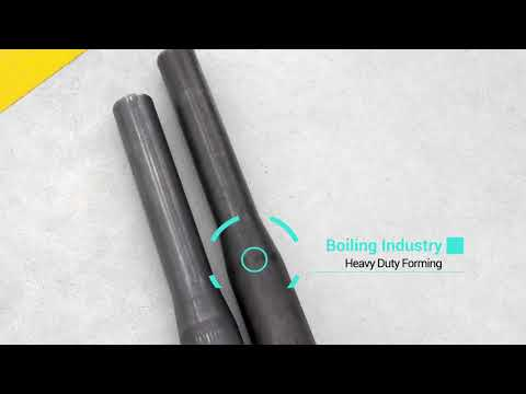 CNC Tube End Former for Boiling Industry Pipe reduction VLB Group