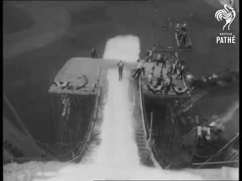News From America 1963   YouTube Ski Jump in LA artificial