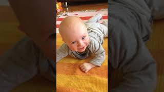 STOPS BABY CRYING at home thanks to Bubsibrain's song - HERE COMES THE CHOO CHOO TRAIN!