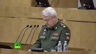 Госдума рассматривает проект закона о бессрочном размещении ВКС России в Сирии