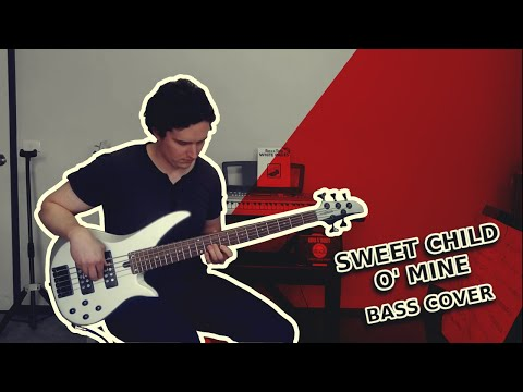 "Guns N' Roses – ""Sweet Child O' Mine"" [Bass Cover]"