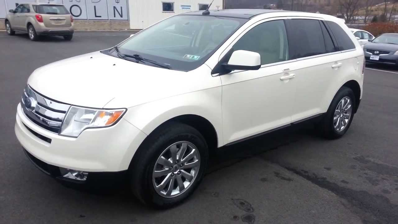 2008 Ford Edge Limited Awd White Sand Tri Coat Clearcoat