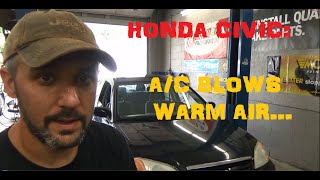 Honda Civic - No A/C