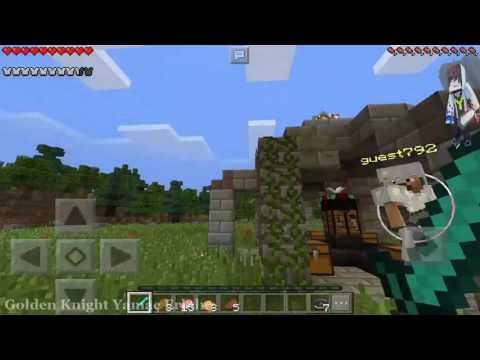 MÜTHİŞ FİNAL. VE PVP DE TUNA ÇOK GELIŞTİ (Minecraft Pe Survival Games w/ Tuna #)