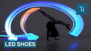 These LED Shoes Make Your Feet Glow