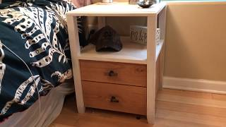 Nightstands/Bedside Table build