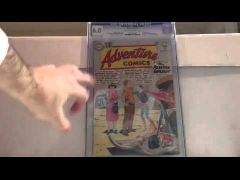 2016 silver age key CGC comic books unboxing