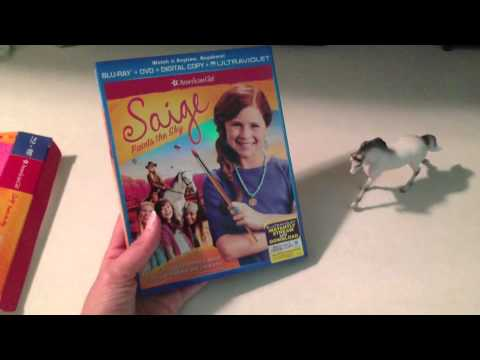 *Review* Exclusive American Girl Saige Blu-Ray & DVD Combo Gift Set