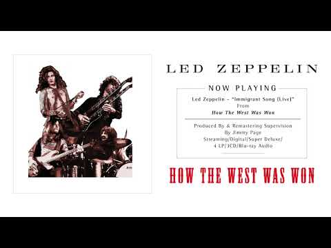Led Zeppelin - Immigrant Song (Live) (Official Audio)