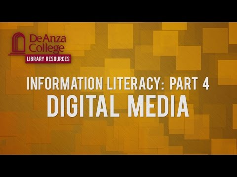 Information Literacy: Part 4 - Library Resources | De Anza College