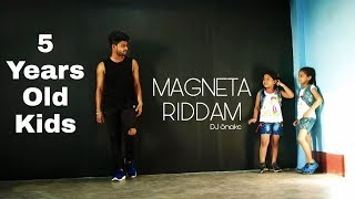 MAGENTA RIDDIM | SUPER KIDS | 5 YEARS OLD | MANISH DUTTA DANCE CHOREOGRAPHY