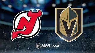Coleman, Devils overpower Golden Knights in 8-3 win