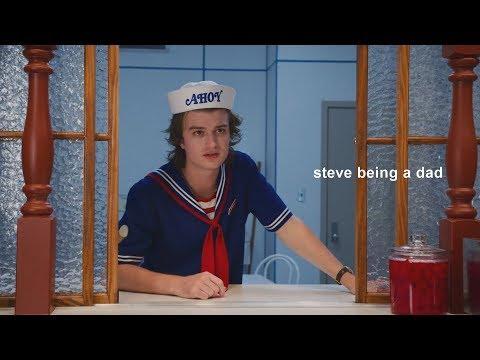 steve-harrington-being-a-dad.