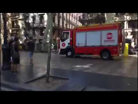 Spain terror attacks - Barcelona