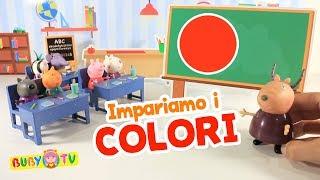 Impara i colori in italiano, Prime parole per bambini, Parole 0-3 anni