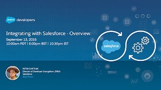 Integrating with Salesforce - Overview