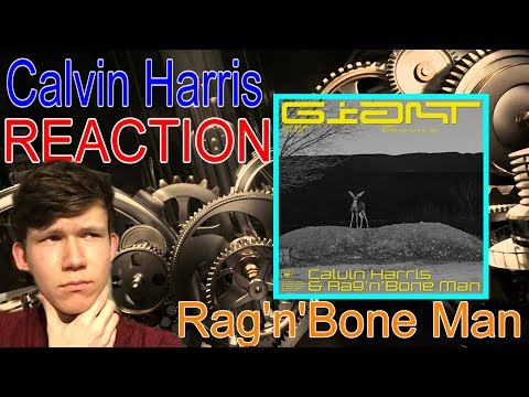 Calvin Harris, Rag'n'Bone Man - Giant REACTION