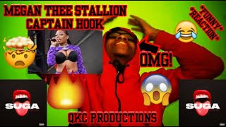 OMG! Megan Thee Stallion - Captain Hook - SUGA - Official Audio - REACTION