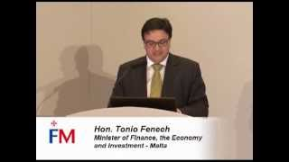 FM 5th Annual Conference 2012: Hon. Tonio Fenech - Opening remarks