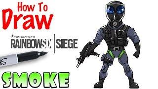 How to Draw Smoke | Rainbow 6 Siege