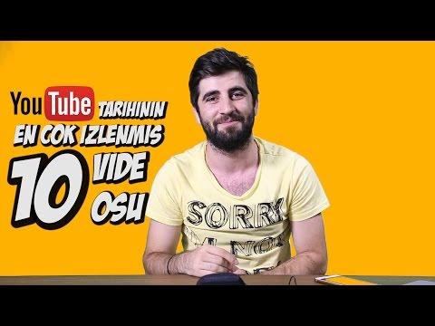 Youtube'un en çok izlenmiş 10 videosu