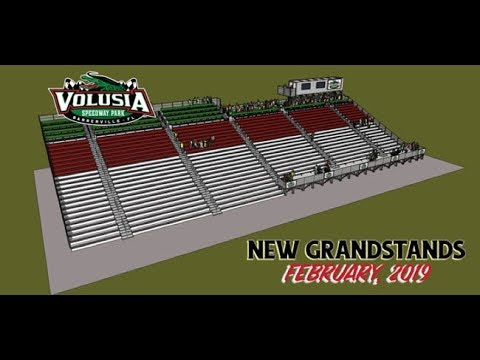 Volusia Speedway Park Begins Construction of New Main Grandstand