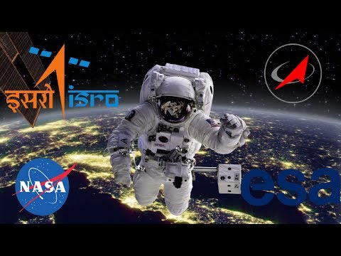 Top 5 space agencies in the world.
