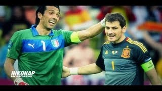 Iker Casillas vs Gianluigi Buffon ▷ Radioactive 2016