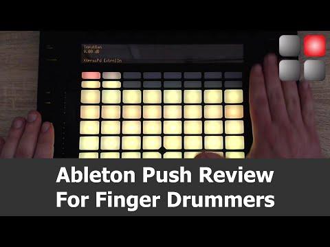 Ableton Push Review For Finger Drumming
