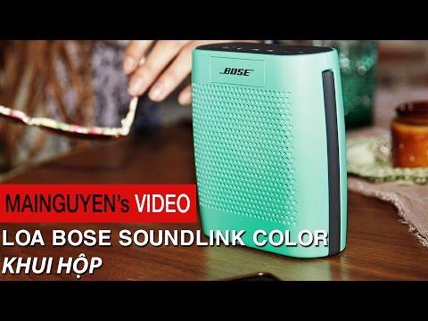 Khui hộp Loa di động Bose SoundLink Color - www.mainguyen.vn