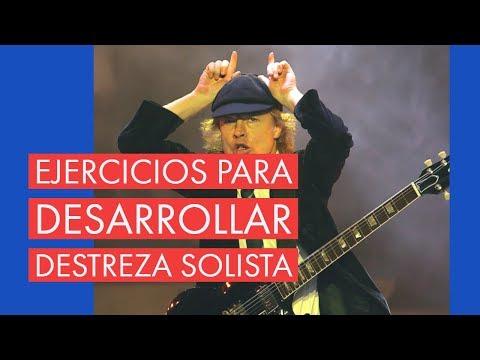 La rutina de práctica de Angus Young (AC/DC)