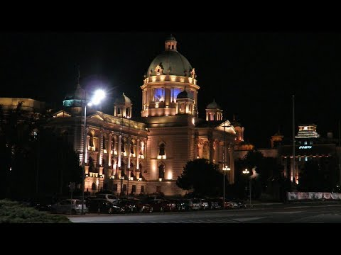 The Driving Vlog - Belgrade city break, The serbian capital at night (Canon SX710 HS).