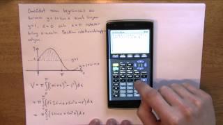 Matematik 4 - Integraler del 8 - Rotation kring x-axeln med flera kurvor