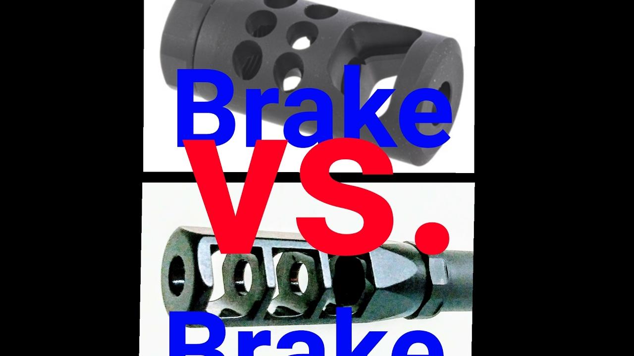 RPR BRAKE VS KAHNTROL 3 GUN BRAKE COMPARISON