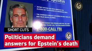 Political leaders call for investigations on Epstein's death