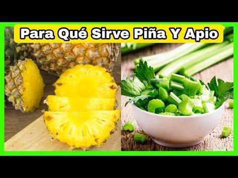 Apio y Piña ☘️¿Para Qué Sirve?🍍Los Beneficios Del Apio y La Piña Que no sabias