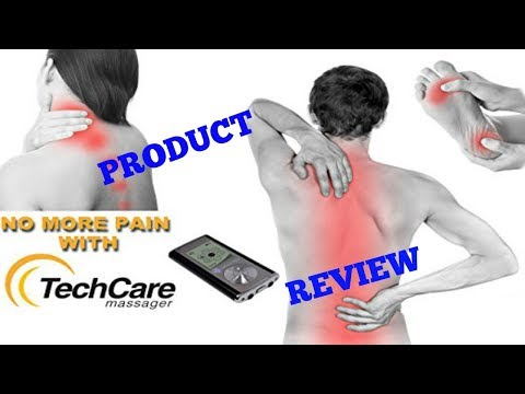 Help for back pain! TechCare Tens Unit Review // Constant Consumer
