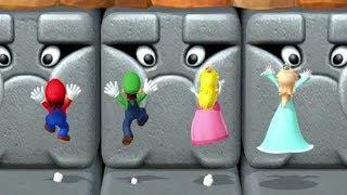 Mario Party 10 MiniGames - Mario Vs Luigi Vs Peach Vs Rosalina (Master Difficulty)