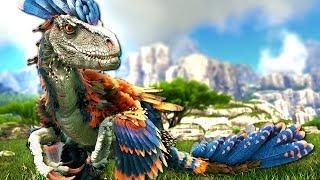 NEW ARK DLC Map Valguero + NEW Official Dinosaur, The Deinonychus!