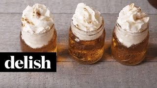 How To Make Cinnamon Roll Fireball Shots  Delish