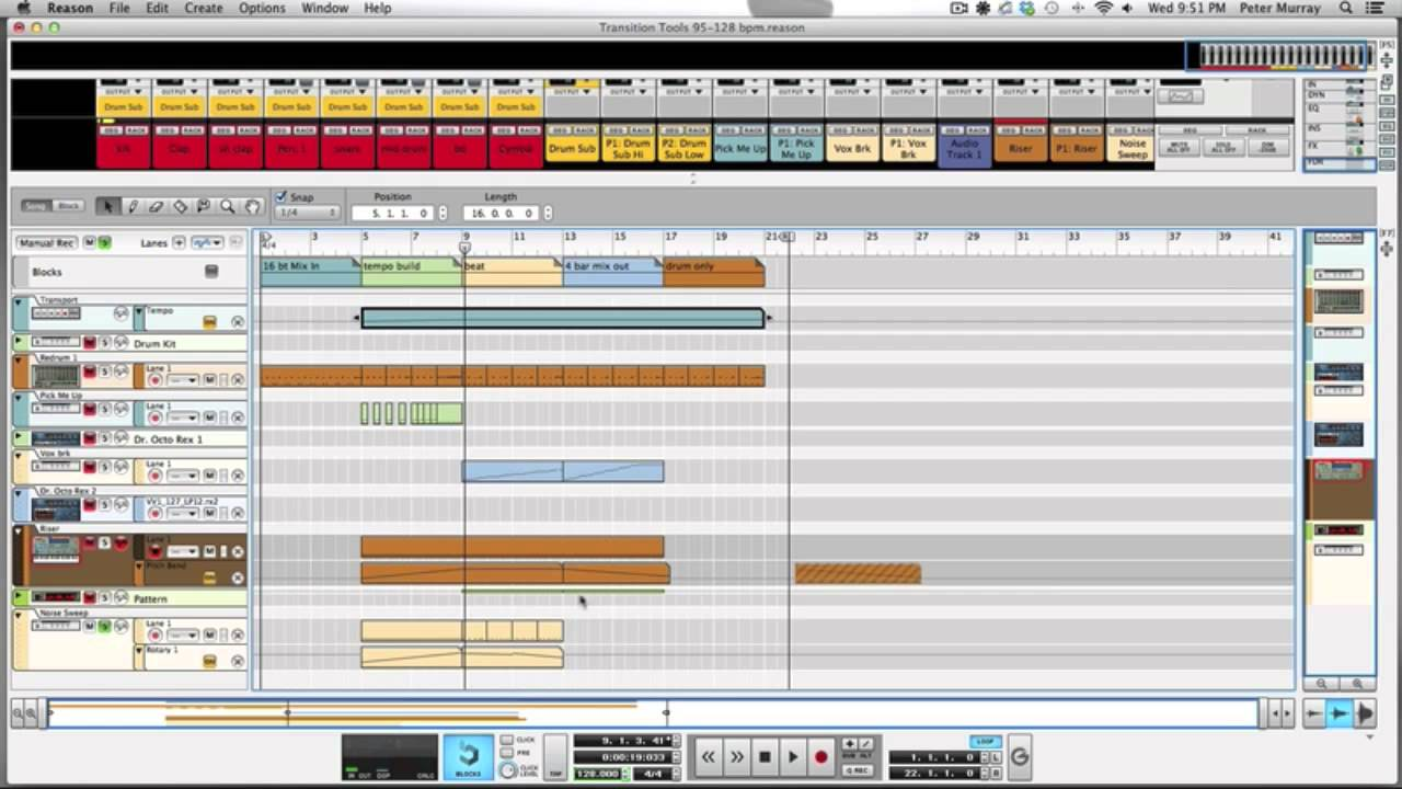 Producing DJ Transition Tools In Reason (Tutorial)